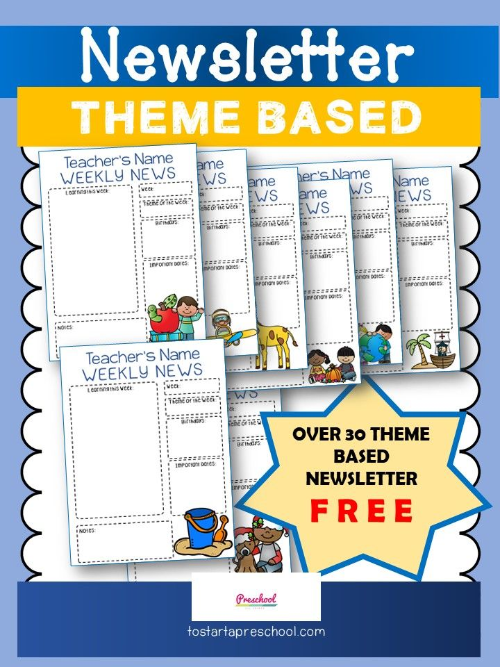 Best 25+ Classroom newsletter free ideas on Pinterest Parent - school newsletter templates