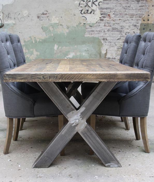 25 beste idee n over metalen salontafels op pinterest houten tafel ontwerp en ontwerp tafel - Tafel een italien kribbe ontwerp ...