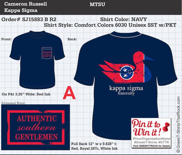 Kappa Sigma Shirt With Southern Marsh Like Design Shirt