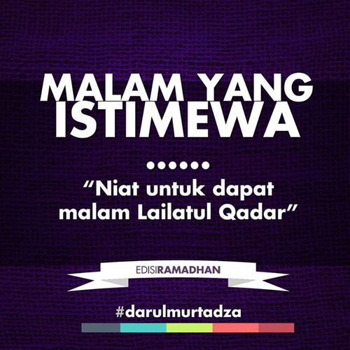 Lailatul Qadr #darulmurtadza