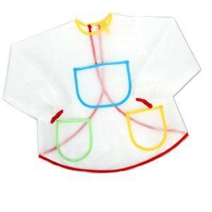 Tablier Blouse de Peinture Etanche Anti-Usure pour Costume de l'Artisanat des Enfants