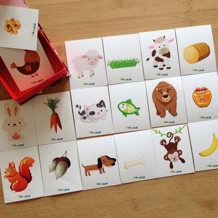 """""""Pia Polya Bu Hayvanlar Ne Yer? Kartları""""  Dosya İsmi: PiaPolya00052+24ay.pdf Tavsiye Edilen Yaş : +24ay Kağıt Ölçüsü: A3 tek sayfa  Nasıl Hazırlanır: Gri çizgilerden kesiniz.  Önemli Uyarı: Bu gönderinin ticari amaç ile kullanılması, reel yada internet ortamında satışının yapılması yasaktır.  Oyun, Pia Polya'nın tüm çocuklara hediyesi olup, fikir mülkiyeti Hotalı Ambalaj Tasarımına aittir."""