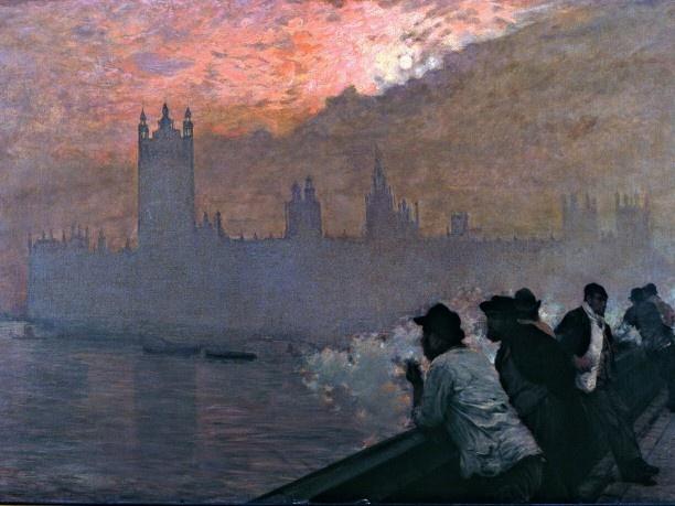 Giuseppe De Nittis - Westminster 1878