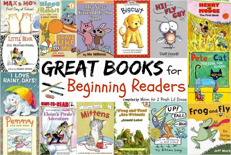 books for beginning readers - simple text to help them gain confidence and engaging characters & stories to keep them reading.