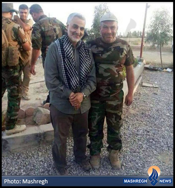IRAQ - General Qasem Soleimani