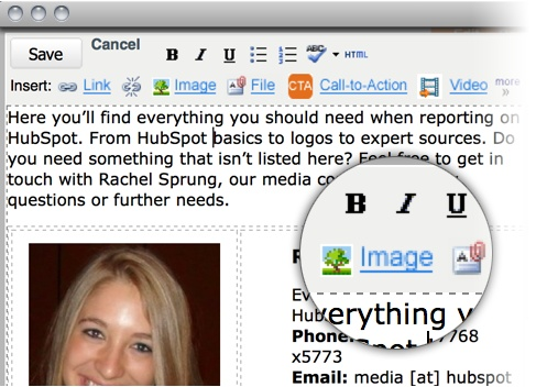 It's SUPER easy to update you web pages with HubSpot.: Website Renovation,  Website