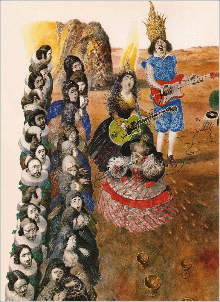 Modrá kniha rozprávok, Ľubomír Feldek, ilustrácie Albín Brunovský