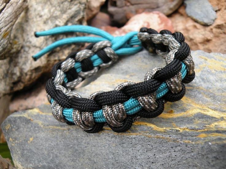 Tri-color Weave Paracord Bracelet
