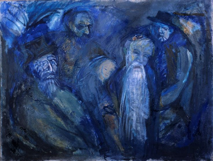 """""""A bölcsesség gyermekkora"""" 100x75 cm oil painting on canvas Price: 1100 Euros"""