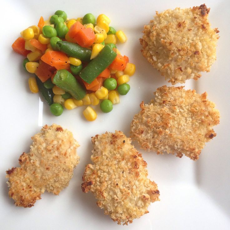 Skip the processed nuggets or fast food and make these for the kids instead! They are super healthy and delicious! The applesauce adds a sweet flavor that the kids will love, plus they are getting ...