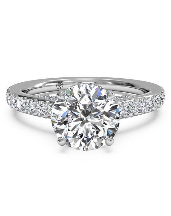 Best 25 Diamond band engagement rings ideas on Pinterest
