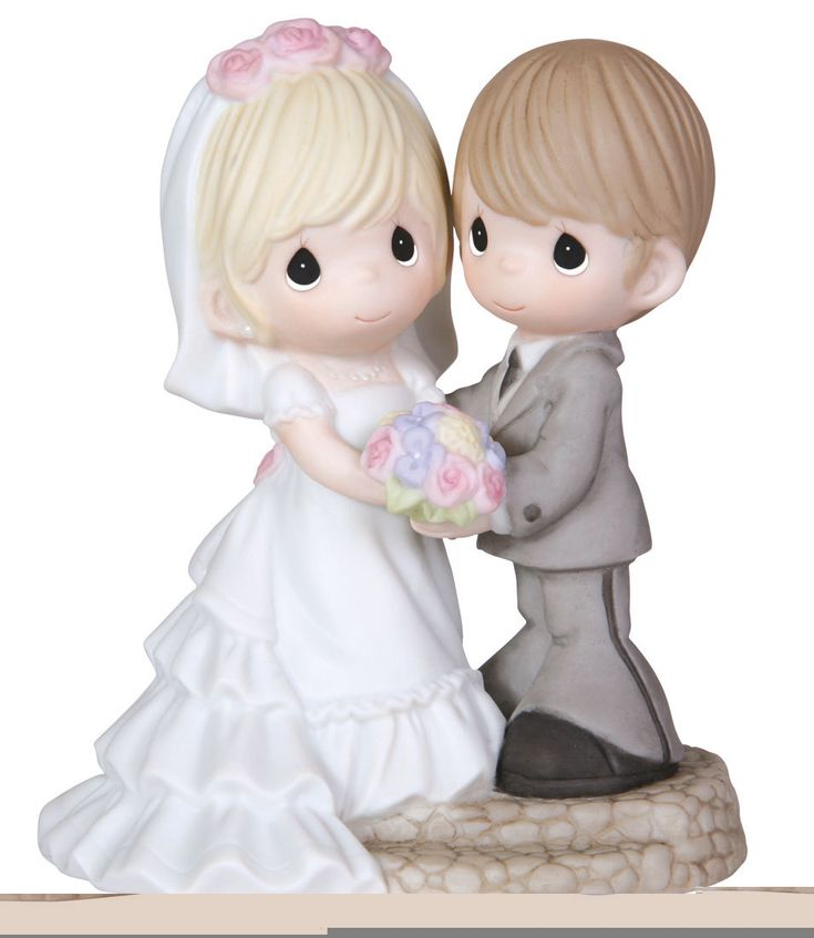 Cake Toppers Cute Precious Moments Wedding Cake Topper