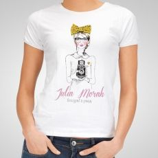 Koszulka personalizowana damska KOBIETA Z PASJĄ