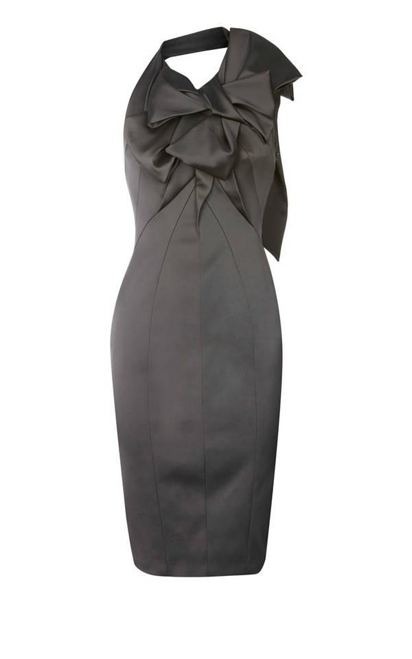 Karen Millen Signature Stretch Satin Dress Grey: Sleeveless Dresses, Fashion Dresses, Millen Dresses, Dresses Grey 184, Little Black Dresses, Satin Dresses