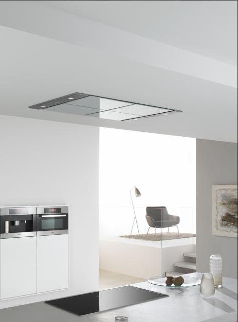 Hoogte Verlaagd Plafond Keuken : Hoogte Verlaagd Plafond Keuken : Afzuigkap in verlaagd plafond Plameco