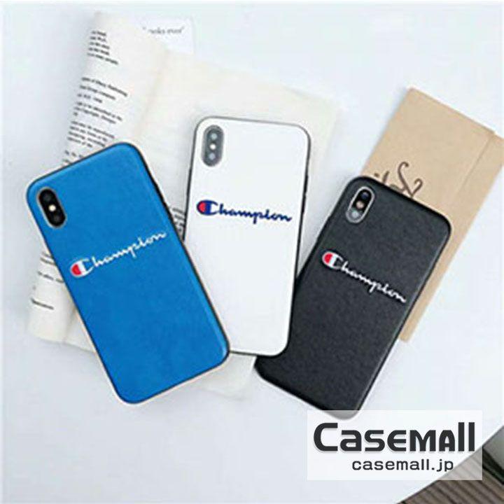 93e4d294db チャンピオン iPhoneXS/X ケース 背面 CHAMPION iPhone8 8PLUSケース ソフト iPhone XS Max/XR 携帯 ケース 耐衝撃 アイフォン7/6S PLUSスマホケース 3色 刺繍ログ