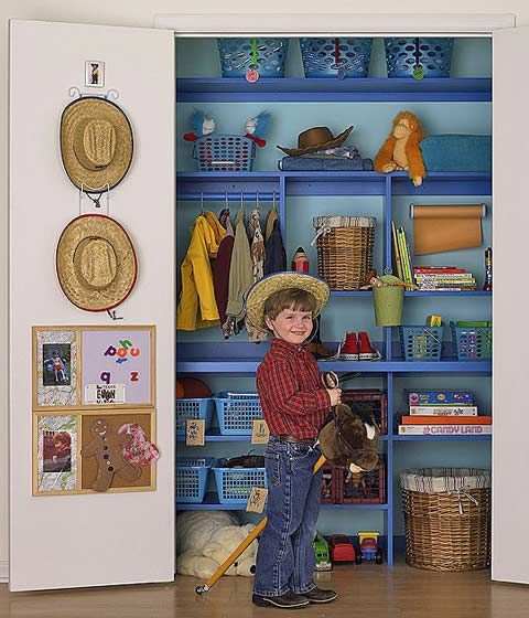 18 best keeping our kids organized rocks images on for Closet para ninos