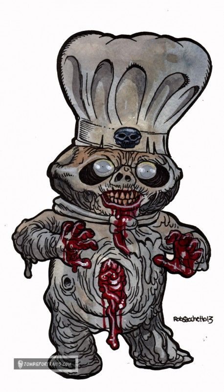zombie pillsbury dough boy