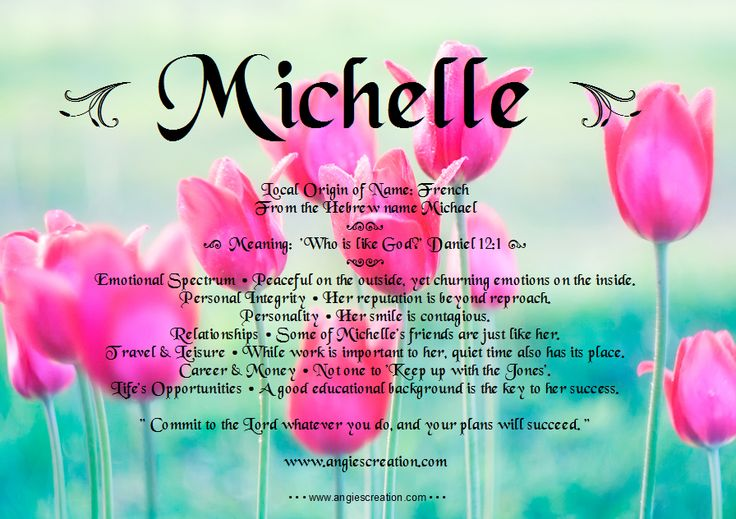 """Angies Creation: Search results for Michelle 