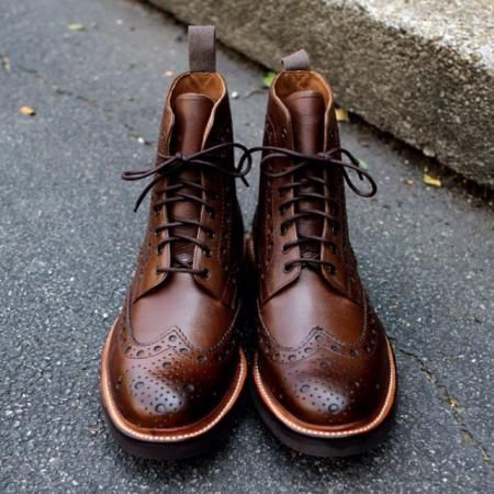 Brown Grenson Fred #Boots. Model #5068452C, in or out? on Everdrobe - Always know what to wear