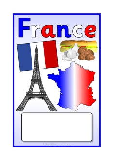 France editable topic book covers (SB8789) - SparkleBox @Influenster @Dino Lingo