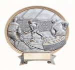 Legend Ice Hockey Oval Award #Hockey #Trophy #Award #sport