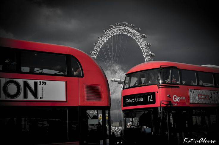 London eye VS red bus!
