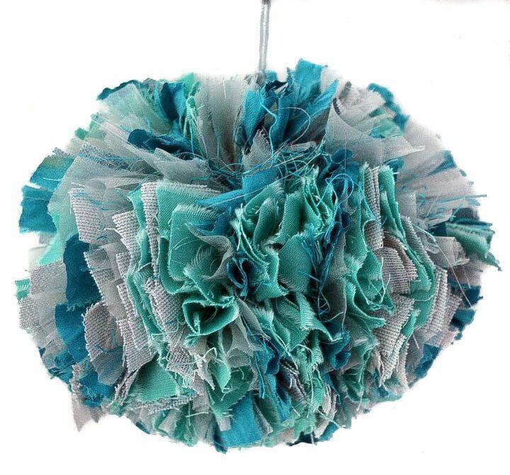 Upcycled Scrap Fabric  Garland