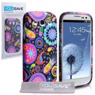 Yousave Accessories® Fundas Samsung Galaxy S3 Medusa Silicona -> 5'50 €