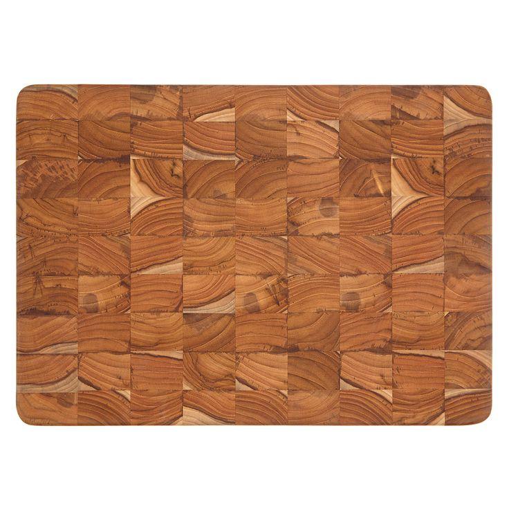 Buy John Lewis Teak End Grain Chopping Board from our Chopping Boards range at John Lewis. Free Delivery on orders over £50.