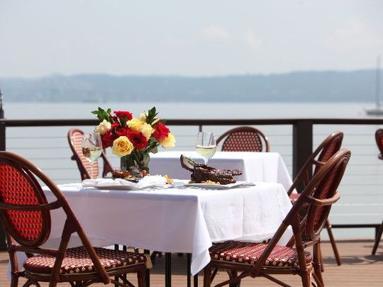 Life in the Lower Hudson Valley has a lot of perks, and proximity to waterfront dining is definitely one of them.
