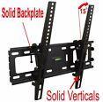 SLIM LCD LED PLASMA FLAT TILT TV WALL MOUNT BRACKET 24 30 32 37 42 46 47 50 55 Description: Solid back plate and verticals = no assembly required and ... #mount #bracket #wall #tilt #plasma #flat #slim