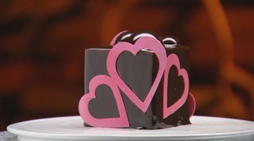 Louros Chocolate Entremet | MasterChef Australia #MasterChefRecipes