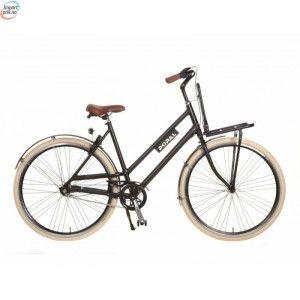 """Popal Brooklyn Matt Sort - 3 Gir - 28"""" - Dutch Bike - Damesykkel kr 6 240,00"""