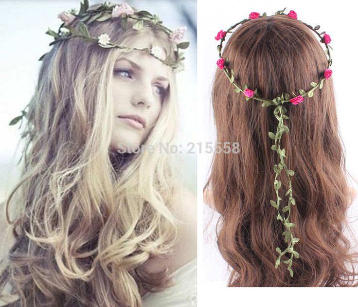 Cheap Wreath Picture Buy Quality Headband Ear Directly From China Band Suppliers Bohemian Bride Flower Women Floral Festival Wedding
