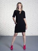 Jurk 100% biokatoen van Sena Eco Couture