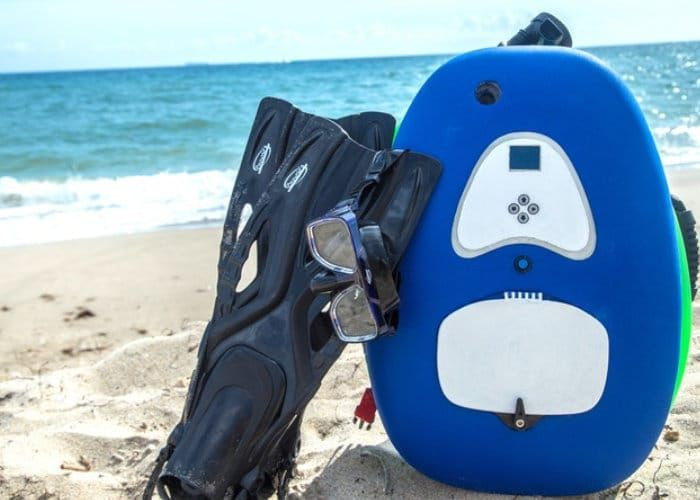 bLU3 Nomad Tankless Dive System - Geeky Gadgets | Gifts