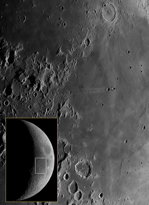 Lunar Pioneer: LROC: The Rays of Messier A