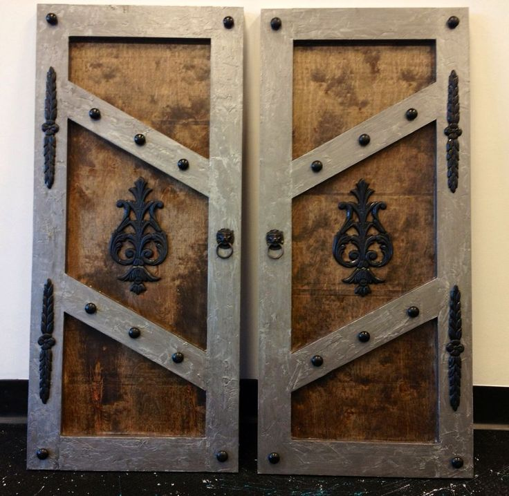 Custom Shutter Doors Cubby Steampunk Gothic Medieval