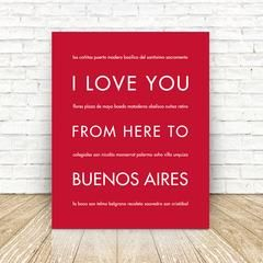 BUENOS AIRES Travel Print | Gift Idea | HopSkipJumpPaper    Home decor, wall art, gift idea for travelers, South America, Argentina