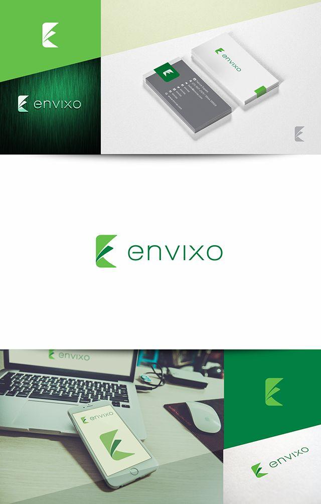 Criação de logotipo e papelaria para Envixo, empresa que desenvolve sofwares para internet.  Niteroi – RJ