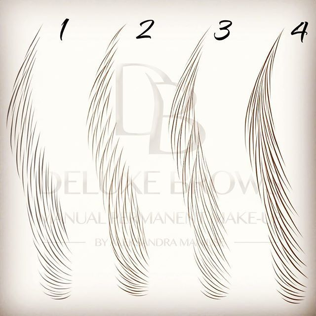 Different hair-strokes patterns. Which one do you prefer? #deluxebrows #manualpermanentmakeup #microbladingtraining #microblading #hairtemplates #manualshading #ombrebrows #hairstrokes #strokestemplates #aleksandramaniuse