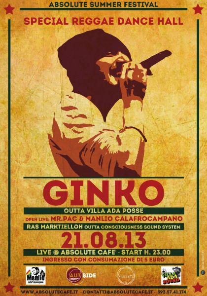 Ginko from Villa Ada Posse - Poster