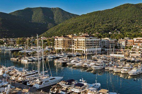 The Regent Porto Montenegro hotel.