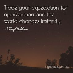 appreciation Tony Robbins Picture Quote