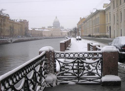 Moyka River, Sankt Petersburg, Russia