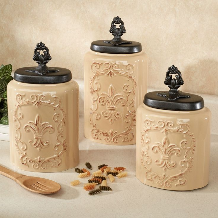 1000+ ideas about ceramic canister set on pinterest | kitchen