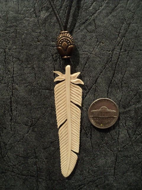 38 best real deer antler pendant necklace talismans amulets carved deer antler pendant with indian pattern by theyurich aloadofball Images