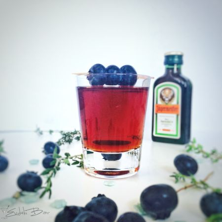 Redheaded Slut Jägermeister, Archers, cranberry suyu #archers #cranberry…