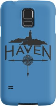 Haven Syfy Inspired Phone Cases/Skins |  Haven Black Logo | Snap Cases,Tough Cases, & Skins for Galaxy S3-S4-S5-S6-S6 Edge-S6 Edge Plus-S7-S7Edge | iPhone 4s/4 5c/5s/5 6/6Plus SE/5s/5 & iPhone Wallets **All designs available for all models.
